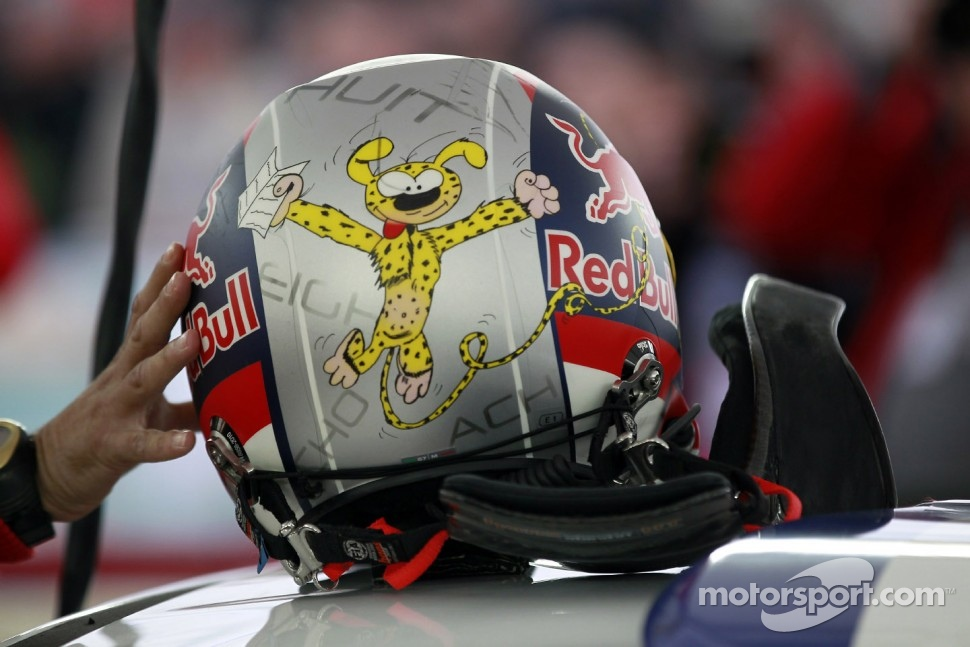 Helmet of Daniel Elena, Citron Total World Rally Team