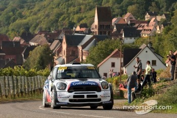 Yvan Muller and Guy Leneuve, Mini John Cooper Works WRC