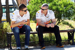 Paul di Resta, Sahara Force India F1 with Gerry Convy, Personal Trainer of Paul di Resta, Sahara Force India F1