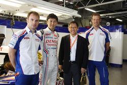 Alexander Wurz, Nicolas Lapierre, Kazuki Nakajima