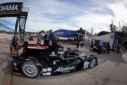 #055 Level 5 Motorsports HPD ARX-03b HPD at technical inspection