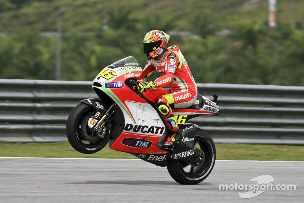 Valentino Rossi, Ducati Marlboro Team