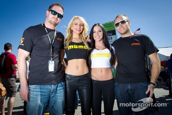 Mark Bullitt and Jeff Segal with the charming Momo girls