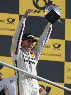 Podium: race winner and 2012 champion Bruno Spengler, BMW Team Schnitzer BMW M3 DTM
