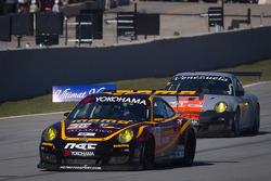 #30 NGT Motorsport Porsche 911 GT3 Cup: Henrique Cisneros, Mario Farnbacher, Jakub Giermaziak and #31 NGT Motorsport Porsche 911 GT3 Cup: Angel Andres Benitez Jr., Mark Bullitt, Jeff Segal
