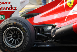 Ferrari exhaust detail