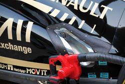Lotus F1 exhaust detail