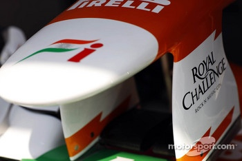 Sahara Force India F1 nosecone