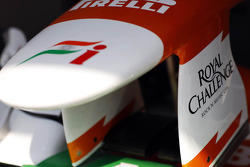 Sahara Force India F1 nosecone