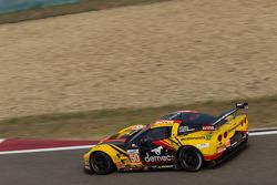 #50 Larbre Competition Chevrolet Corvette C6-ZR1: Patrick Bornhauser, Julien Canal, Pedro Lamy