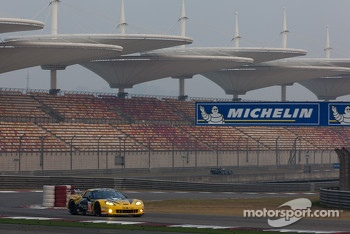 #70 Larbre Competition Chevrolet Corvette C6-ZR1: Christophe Bourret, Pascal Gibon, Jean-Philippe Belloc
