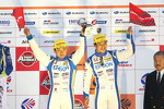 GT500 podium: third place Ryo Michigami, Yuki Nakayama