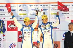 GT500 podium: third place Ryo Michigami, Yuki Nakayama