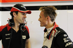 Marc Hynes, Marussia F1 Team Driver Coach with Max Chilton, Marussia F1 Team Test Driver