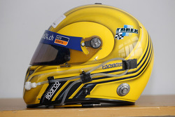 Fredy Barth, SEAT Leon WTCC, SUNRED Engineering's helmet