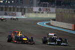 Mark Webber, Red Bull Racing and Pastor Maldonado, Williams F1 Team