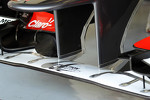 Sensors on the Sauber front wing