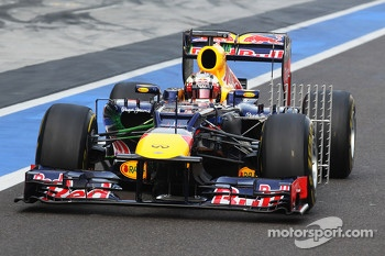 Antonio Felix da Costa, Red Bull Racing Test Driver with sensor equipment