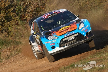 Mads Ostberg and Jonas Andersson, Ford Fiesta RS WRC
