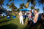 NASCAR Championship Drive in South Beach: fans play games