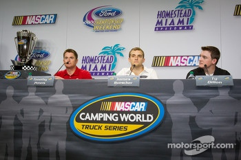 Championship contenders press conference: Timothy Peters, James Buescher and Ty Dillon