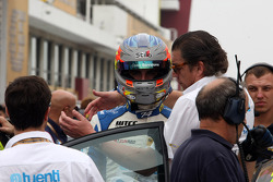 Pepe Oriola, SEAT Leon WTCC, Tuenti Racing Team and hid father