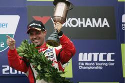 3rd position Tiago Monteiro, Honda Civic Super 2000 TC, Honda Racing Team Jas
