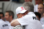 Michael Schumacher, Mercedes GP and Ross Brawn, Mercedes GP, Technical Director