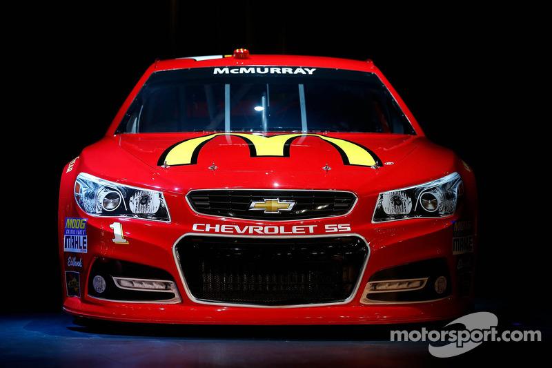 Jamie McMurray's 2013 Chevrolet SS Sprint Cup car