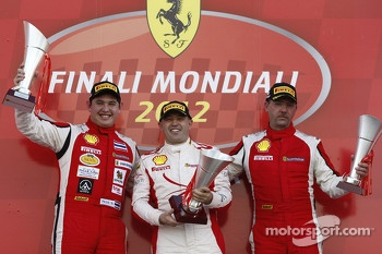 APAC race 1 podium