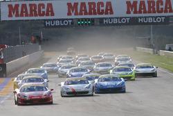 Coppa Shell, Europe race 1 start
