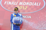 Finali Trofeo Pirelli podium: race winner Alessandro Balzan