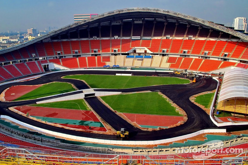 The track is almost ready