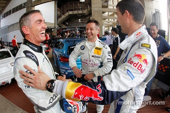 Mick Doohan, Andy Priaulx and Sébastien Ogier