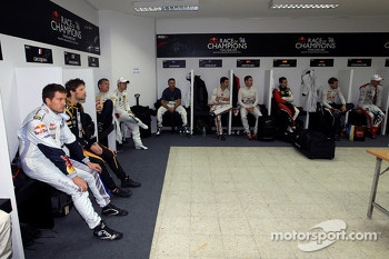 Drivers locker room