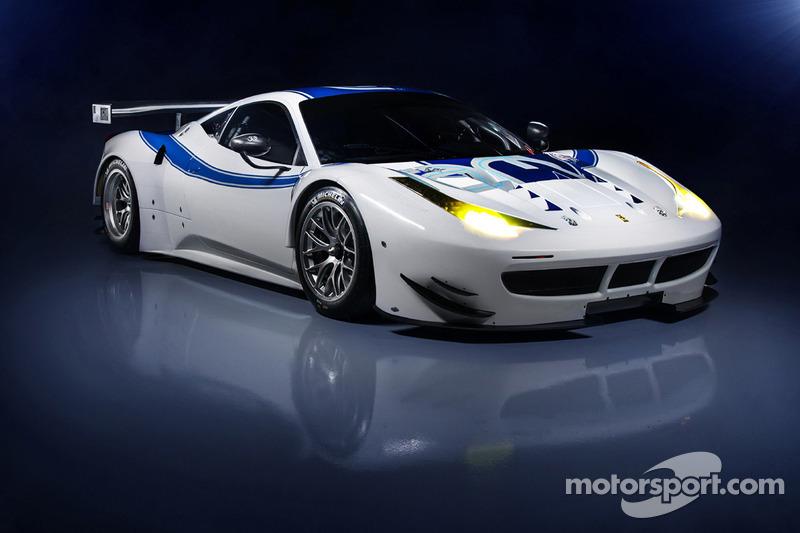 The RAM Racing Ferrari 458 Italia