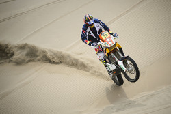 #29 KTM: Kurt Caselli tests near Lima, Peru