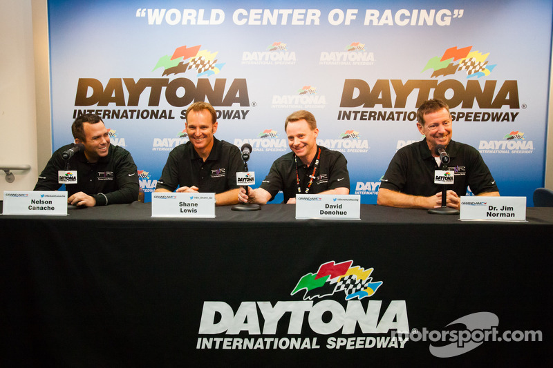 Napleton Racing press conference: Nelson Canache, Shane Lewis, David Donohue, Jim Norman