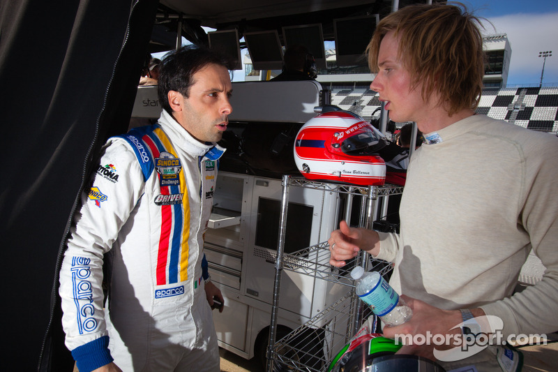 Ivan Bellarossa and Brendon Hartley