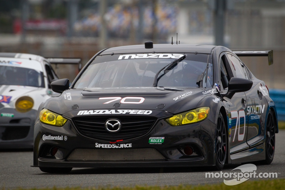 New Mazda 6 Racecar Testing At Daytona Mx 5 Miata Forum