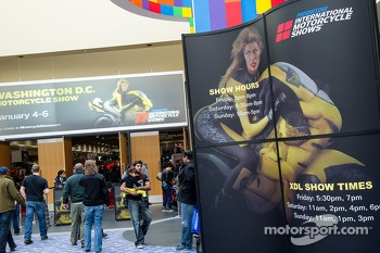 Progressive's 2013 International Motorcycle Show at the Washington DC convention Center Drew big crowds on the first weekend of January