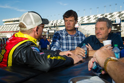 Clint Bowyer, Michael Waltrip Racing Toyota, and Michael Waltrip