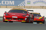 #11 AF Corse Ferrari 458 Italia GT3: Alexander Talkanitsa Sr., Alexander Talkanitsa Jr., Pasin Lathouras, Raffaele Gianmaria, Stephane Lemeret