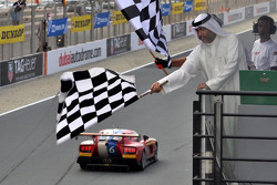 #6 VDS Adventures VDS GT 001-R: Raphael van der Straten, Benjamin Bailly, Erik Qvick, Jose Close takes the checkered flag