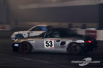 Porsche Boxer Racing in the live action arena