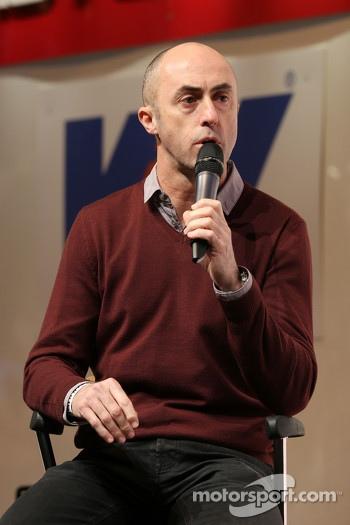 David Brabham, on the Autosport Stage