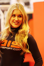 Girl at Autosport International