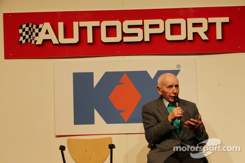 John Surtees, on the Autosport Stage