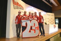 The Ducati team