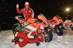 Andrea Dovizioso and Nicky Hayden, Ducati Marlboro Team unveil their bikes